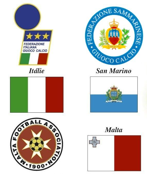 The First World Atlas Of Football Regional Map Of Italy San